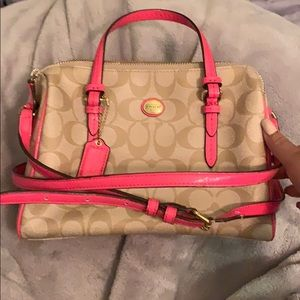 Coach Peyton bennett mini satchel
